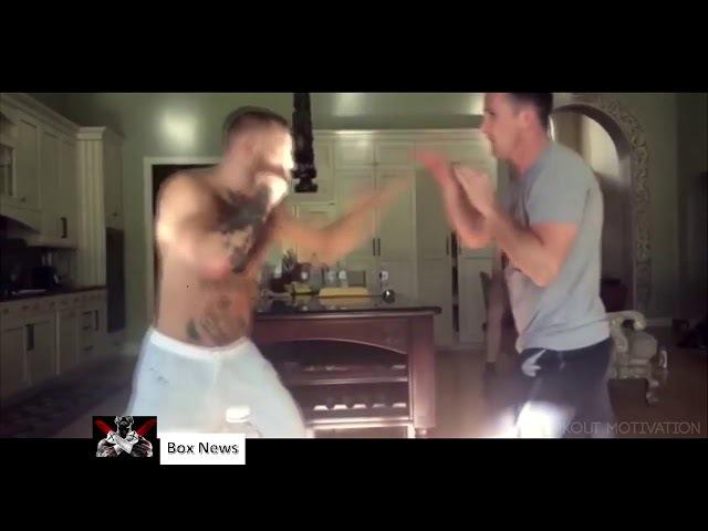 The Notorious Conor McGregor unusual training motivation