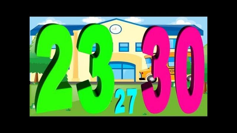 Dạy bé học đếm - dạy bé học đếm số - dạy bé học số đếm tiếng việt - dạy bé học đếm từ 1 đến 30