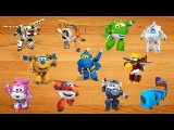 Super Wings New Playset Arrived~! Wrong body Mira, Jett, Todd, Paul, Bello, Dizzy