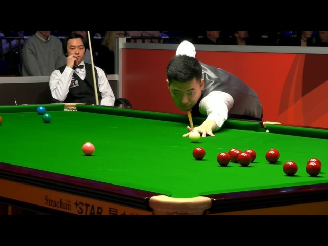 Tian Pengfei vs Akani Songsermsawad - Snooker Welsh Open 2018 R1