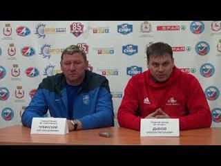 Пресс-конференция А. Дьякова и О. Чубинского