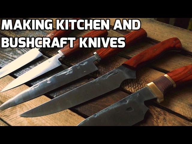 Knife making - Making Kitchen and Bushcraft Knives