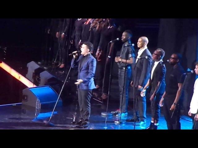 Jahmene Douglas Ft. The London Community Gospel Choir - Forever Young Live At The Unity Concert