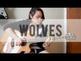 Wolves - Selena Gomez ft. Marshmello (Fingerstyle Guitar) (+FREE TABS)