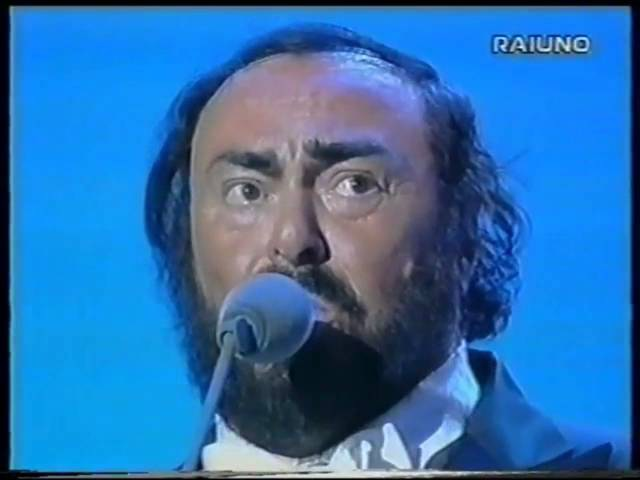 Gorge Michael Luciano Pavarotti Don't let the sun go down on me