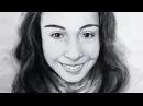 А что если черно-белый портрет акварелью? - Скоростная живопись