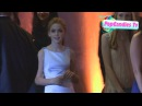 Kiernan Shipka departs AMC Emmy After Party at Lure in Hollywood