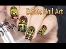 Ethnic Tribal Nail Art / Этнический дизайн ногтей
