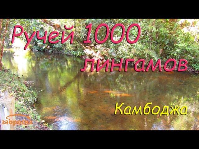ЗА Ручей 1000 лингамов Пном Кулен Камбоджа
