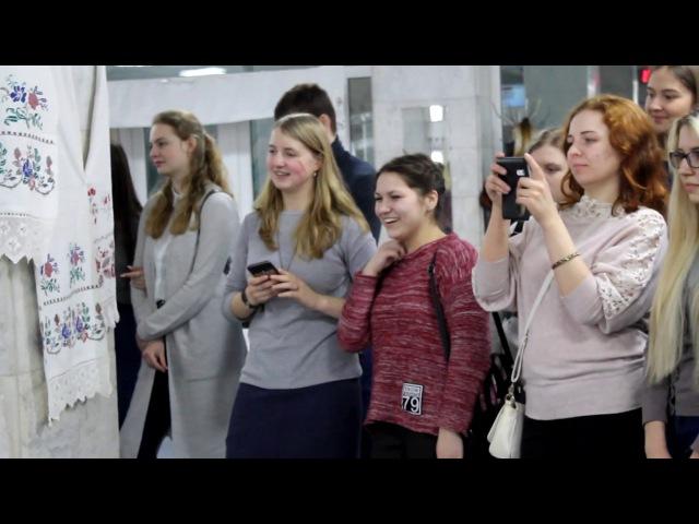 В ГГУ им Ф Скорины открылась выставка Маркаўскаму роду няма пераводу