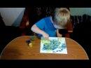 Юный художник экспериментатор