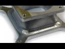Сварочная алюминиевая конструкция Формование листового металла Круговое отверстие для перехода в прямоугольное отверстие