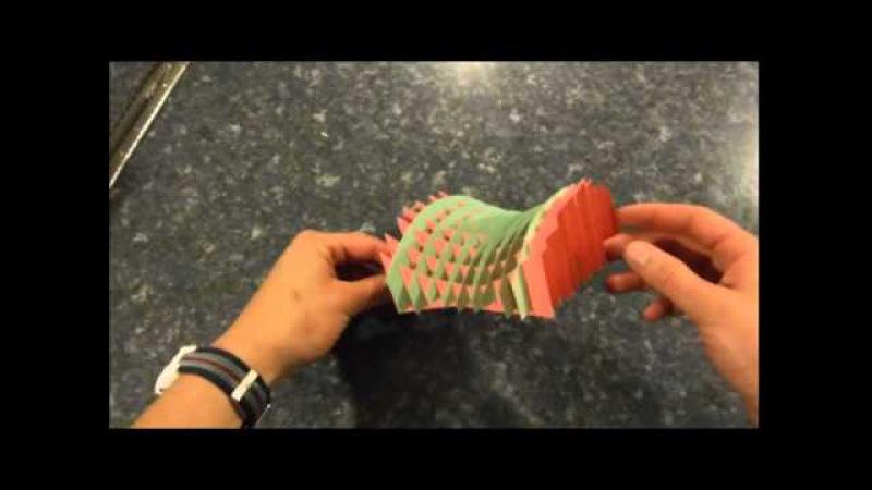 Intro to Sliceforms (Hyperbolic Paraboloids)
