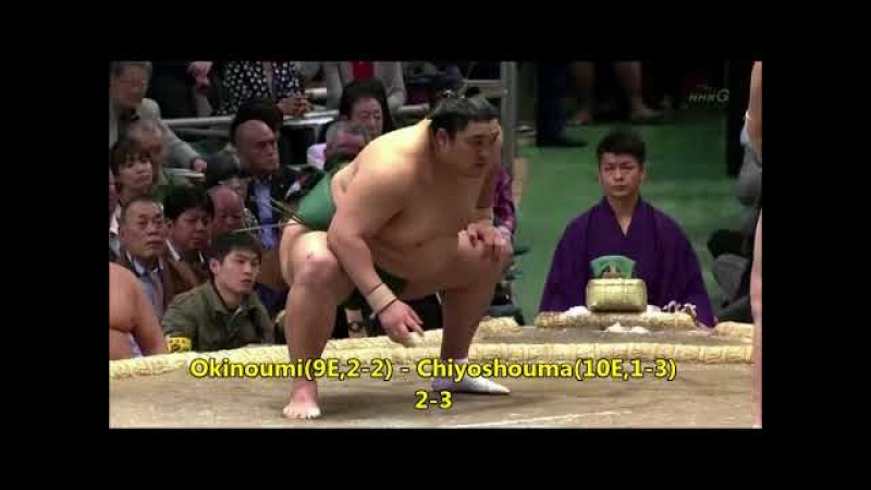 Sumo -Haru Basho 2018 Day 5, March 15th -大相撲春場所2018年 5日目