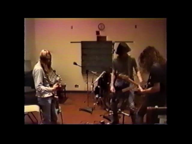 Nirvana studio footage June 1989 The Evergreen State College Olympia WA