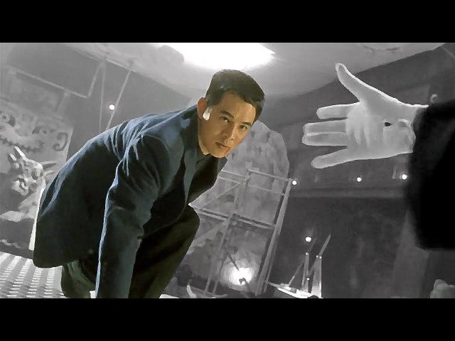Джет Ли против босса банды   Jet Li vs gang boss