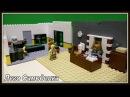 Lego Самоделка - Подпольная типография Логово Преступников и Кабинет злодея