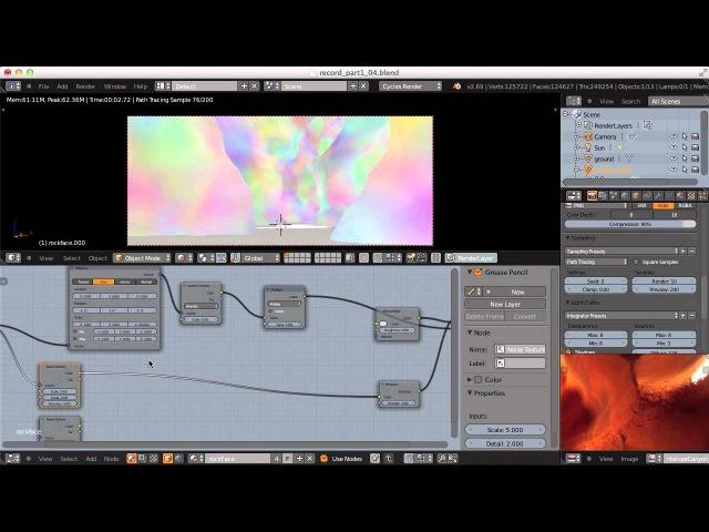 Creating Antelope Canyon - Blender Procedural Workflow