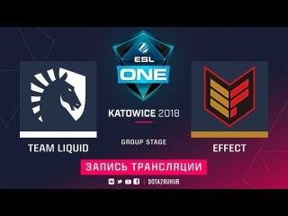 Liquid vs Effect, ESL One Katowice [Mila, Mortalles]