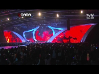 121130 Mnet Asian Music Awards - SHINee + EXO