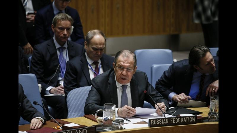 Выступление С.Лаврова на заседании СБ ООН по Афганистану и Центральной Азии