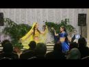 Индийский танец от жительниц села Кытыл Дьура Дианы Голоковой и Ирины Юлдашевой 17 02 2018