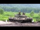 Стрельба танка Т-90