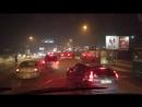 Авария на Димитровском мосту 01.02.2018 Часть 1