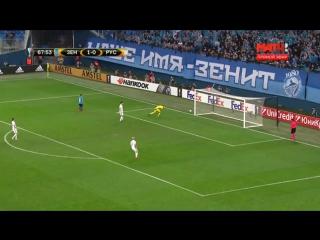 Второй гол Эмилиано Ригони в ворота