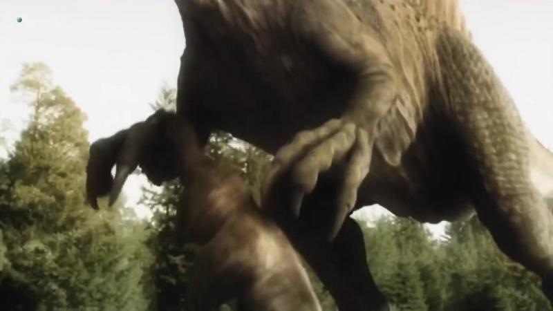 Поле битвы. Спинозавр - самый большой динозавр хищник. Доисторический мир. Документальный фильм.mp4