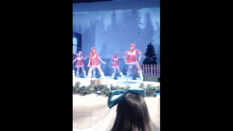 контерт с моим. выстц концерт с моим выступлением в конце танец снежинки камочки и метелецы