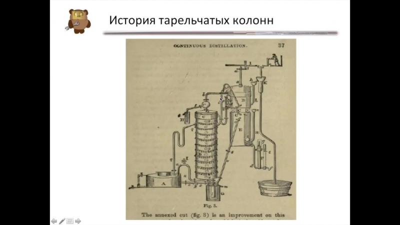 Основные типы ректификационных колонн. Тарельчатые колонны Часть 3 ...