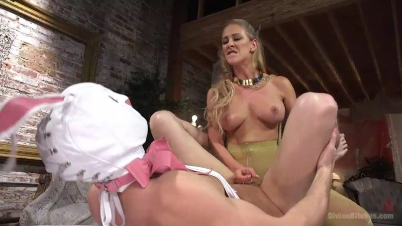 Cherie Deville Pretty Lil Fuck Bunny Gets His Dick Sounded and His Ass Fucked by Goddess Cherie