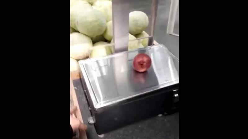 Весы в магазине Лента