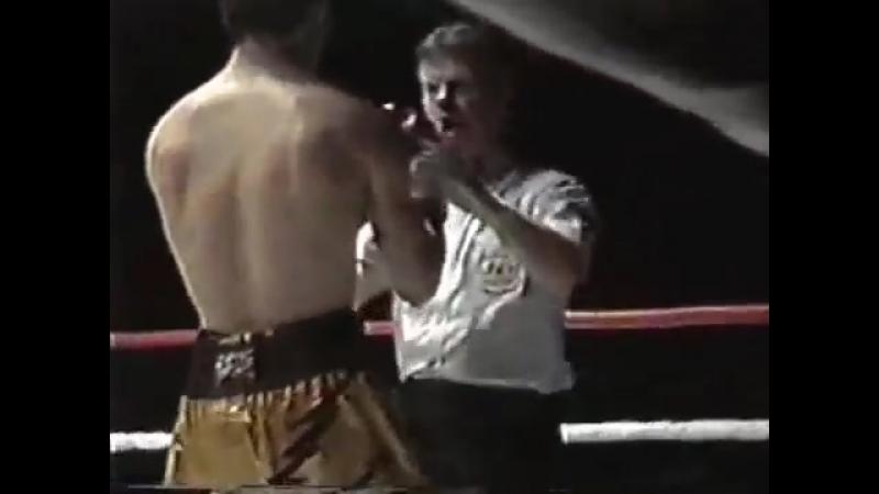 Константин Цзю vs Ларри Лакурзье (полный бой) [14.05.1993]