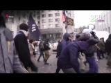 Радикалы напали на здания Россотрудничества в Киеве