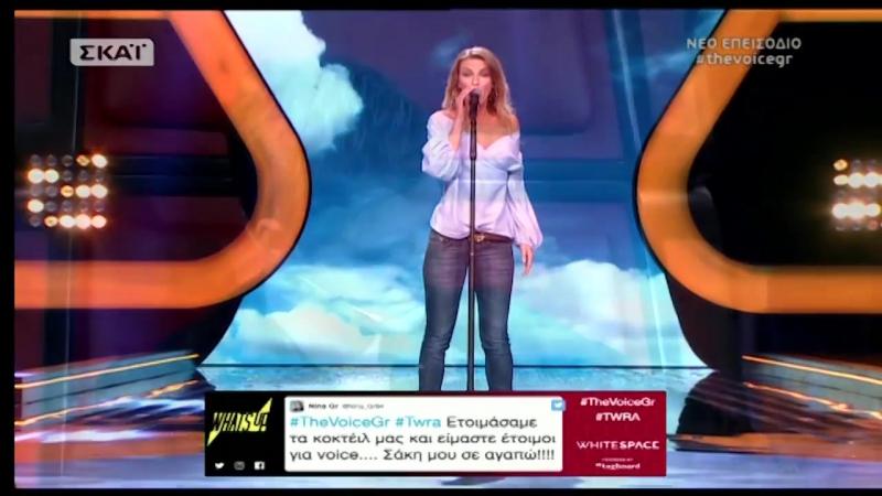 The Voice of Greece 4 - Blind Audition - ZHTA MOY OTI THES - Koralia Rallou Intzirtzi