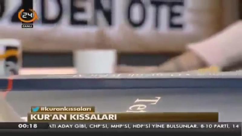 Sözden Öte 18. Bölüm - Kuran Kıssaları - 3 Ocak 2015 - Mustafa Öztürk