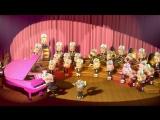 Маша и Медведь  в исполнении оркестра