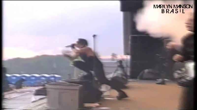 Marilyn Manson Theater This is the New Shit Rock Am Ring 2003