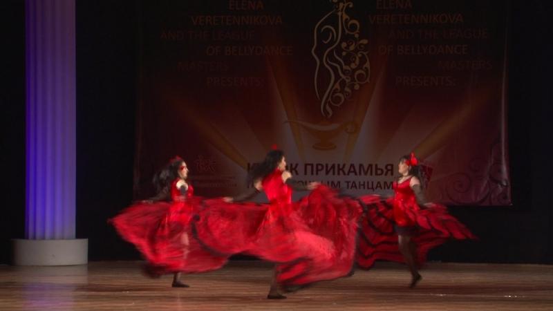 КАН-КАН_студия арабского танца ADAMAS, номинация фьюжн, 1 место рук.Е.Воробьева