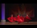 КАН-КАН_студия арабского танца ADAMAS, номинация фьюжн, 1 место (рук.Е.Воробьева)