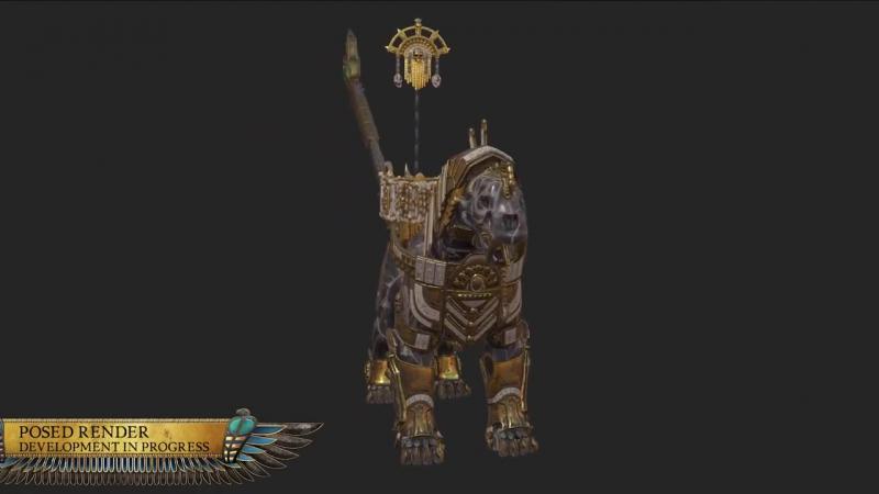Авторы Total War WARHAMMER 2 — Tomb Kings оживили сфинксов