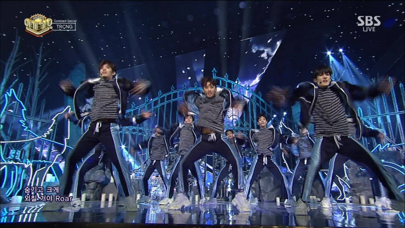 [Comeback Stage] 180107 TRCNG (티알씨엔지) - UTOPIA Wolf Baby