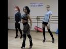 """Начинающая группа стрип пластики, урок 2. Центр хореограф. искусства """"Lin Art"""""""