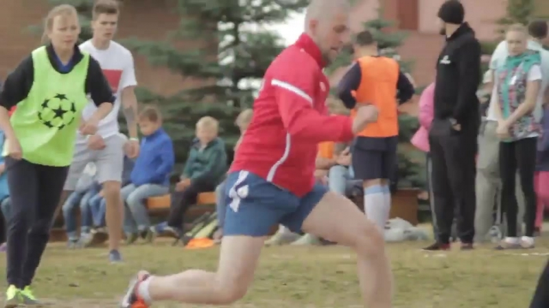 SOS - детская деревня ЭКОфитнес. Футбольный благотворительный Турнир.