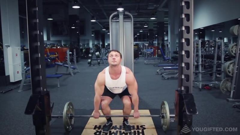 Упражнения для спины. Становая тяга. Классический стиль