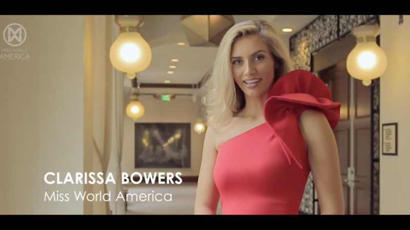 UNITED STATES, Clarissa BOWERS - Contestant Introduction (Miss World 2017)