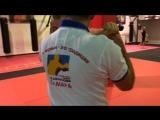 Дмитрий Рубин Тренировка по боксу