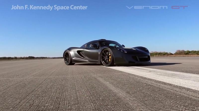 Worlds Fastest_ 270.49 mph Hennessey Venom GT